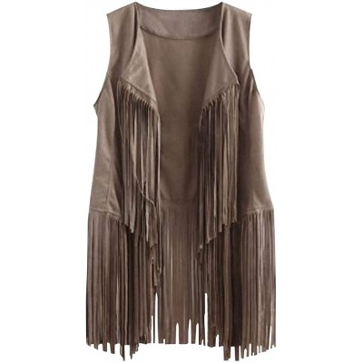 D.B.M Ladies' Lightweight Casual Solid Color Fringe Hem Long Sleeve Cardigan at Women's Clothing store