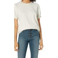 Brand - Goodthreads Women's Heritage Fleece Blouson Short-Sleeve Shirt
