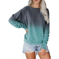 LAMISSCHE Womens Crewneck Long Sleeve Sweatshirt Casual Solid Pullover Lightweight Tops at  Women's Clothing store