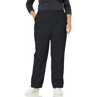 Chic Classic Collection Women's Plus Cotton Pull-on Pant with Elastic Waist at  Women's Clothing store