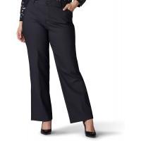 Lee Women's Plus Size Flex Motion Regular Fit Trouser Pant at  Women's Clothing store