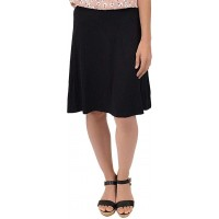 Knee Length A-Line Flowy Skirt   Comfortable Clothes for Women and Girls   S-5XL at  Women's Clothing store