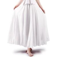 OCHENTA Women's Light Bohemian Flowy Full Circle Long Maxi Skirt at  Women's Clothing store