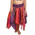 Wevez Women's Tribal Leaves Style Skirt Pack of 3 One Size Assorted at Women's Clothing store