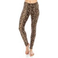 ALWAYS Women's Print Pattern Leggings - Premium Soft Stretch Peach Skin Pants 1 at  Women's Clothing store