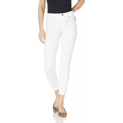 HUE Women's Essential Denim Jean Skimmer Leggings Assorted at Women's Clothing store