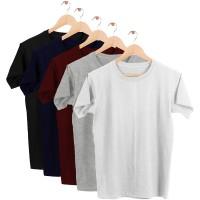 DiManier Cotton Men's T-Shirts - Short Sleeve - Crew Neck |