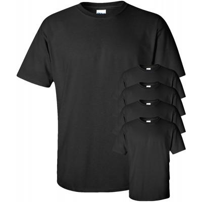 Gildan Men's Ultra Cotton T-Shirt 5 Pack  