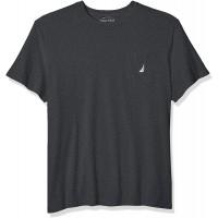 Nautica Men's Big & Tall Solid Crew Neck Short Sleeve Pocket T-Shirt  