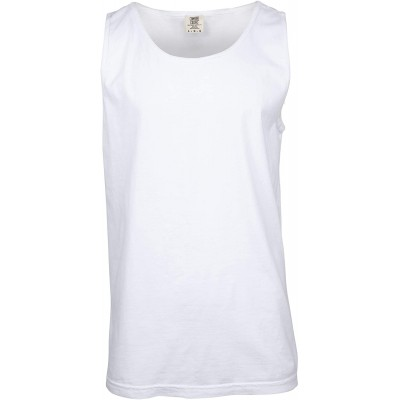 Comfort Colors Men's Adult Tank Top Style 9360 White Large