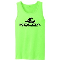 Koloa Classic Wave Logo Tank Tops in 27 Colors. Adult Sizes S-4XL at  Men's Clothing store