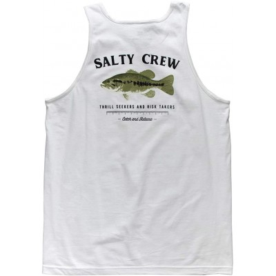 Salty Crew Men's BigMouth Classic Fit Cotton Tank Top at  Men's Clothing store