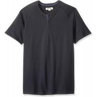 Brand - Goodthreads Men's Short-Sleeve Sueded Jersey Henley