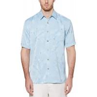 Cubavera Men's Subtle Floral Jacquard Shirt at  Men's Clothing store