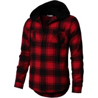 H2H Mens Casual Hoodie Jackets Lightweight Long & Short Sleeve with Pockets at  Men's Clothing store