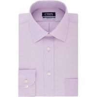 Chaps Men's Dress Shirt Regular Fit Solid at  Men's Clothing store
