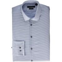 John Varvatos Star USA Men's Rick Slim Fit Long Sleeve Button Down Dress Shirt at  Men's Clothing store