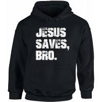 Awkward Styles Unisex Jesus Saves Bro Hoodie Hooded Sweatshirt White Love Faith Religious Gift at  Men's Clothing store