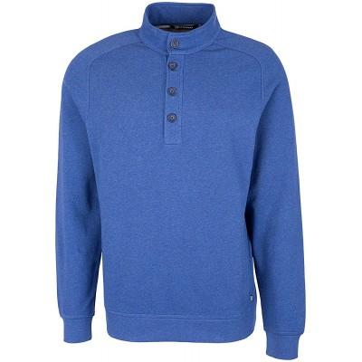 Cutter & Buck Men's Knit Sweatshirt at  Men's Clothing store