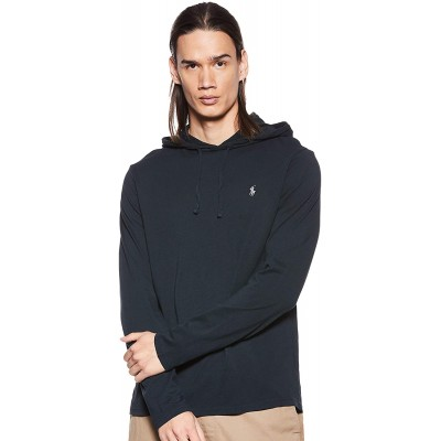 Polo Ralph Lauren Mens Jersey Knit Hoodie Tee at Men's Clothing store