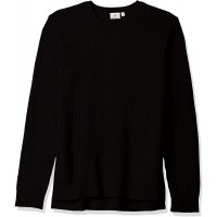 AG Adriano Goldschmied Men's Deklyn Long Sleeve Waffle Sweater at  Men's Clothing store