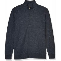 Billy Reid Men's Long Sleeve Donegal Half Zip Pullover Sweater at  Men's Clothing store