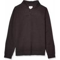 Billy Reid Men's Long Sleeve Pullover Ribbon Terry Shawl Collar Sweater at  Men's Clothing store