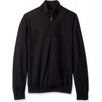Brand - Buttoned Down Men's Italian Merino Wool Lightweight Cashwool Quarter-Zip Sweater