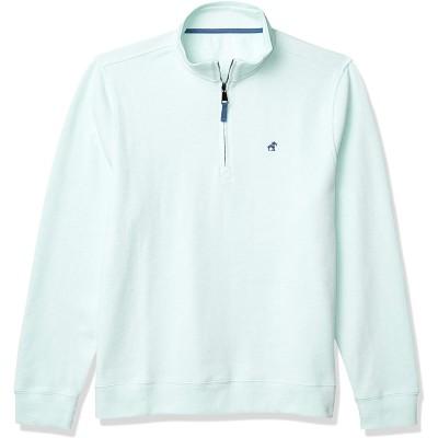 Caribbean Joe Men's 1 4 Zip Cotton Sweater at Men's Clothing store