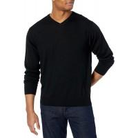 Cutter & Buck Men's Douglas V-Neck Sweater at  Men's Clothing store