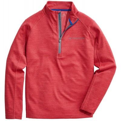 Vineyard Vines Men's Striped Sankaty 1 2-zip Pullover at Men's Clothing store