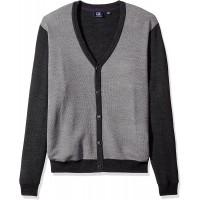 Cutter & Buck Men's Big-Tall Cornish Cardigan Sweater at  Men's Clothing store