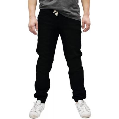 Americano Men's Drop Crotch Jogger Twill Pants at Men's Clothing store