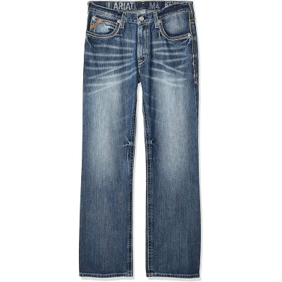 ARIAT M4 Low Rise Boot Cut Jeans – Men's Relaxed Fit Denim at  Men's Clothing store
