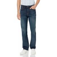 Essentials Men's Straight-Fit Stretch Bootcut Jean