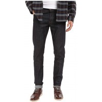 The Unbranded Brand Men's UB422 Tight Indigo Stretch Selvedge at  Men's Clothing store