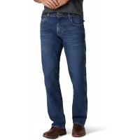 Wrangler Men's Texas Rooted Slim Straight Jean at  Men's Clothing store