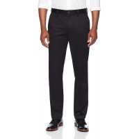 Brand - Buttoned Down Men's Straight Fit Stretch Non-Iron Dress Chino Pant Black 32W x 30L
