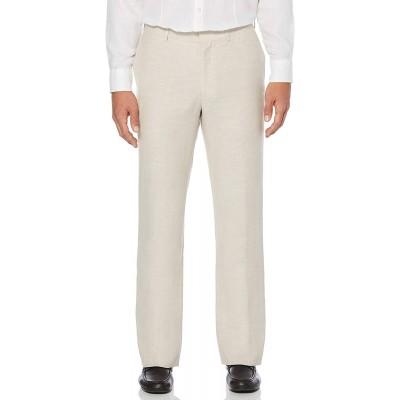 Cubavera Men's Easy Care Linen-Blend Flat-Front Dress Pant at Men's Clothing store