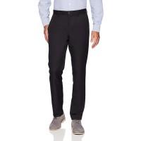 Essentials Men's Slim-Fit Flat-Front Dress Pants