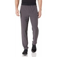 Brand - Peak Velocity Men's All Day Comfort Stretch Woven Athletic-Fit Pant