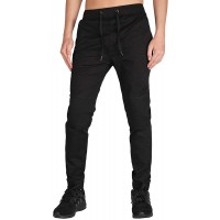 ITALY MORN Men's Casual Jogger Pants Slim Fit Stretch Sweatpants at  Men's Clothing store