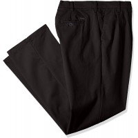IZOD Men's Big and Tall Performance Stretch Pleated Pant at  Men's Clothing store