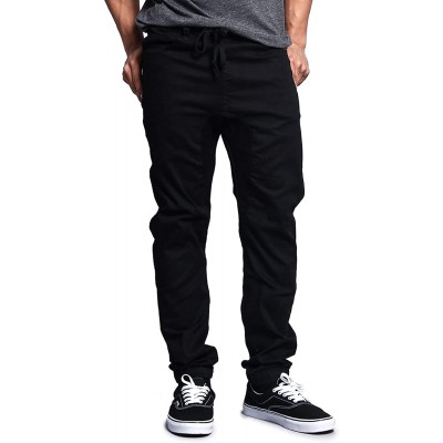 Victorious Mens Twill Jogger Pants at  Men's Clothing store