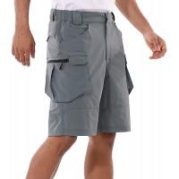 BALEAF Men's 10 Hiking Cargo Shorts Lightweight Quick Dry Golf Outdoor Active Sport Short Zipper Pockets