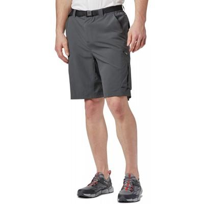 Columbia Sportswear Men's Big and Tall Silver Ridge Cargo Shorts Grill 50 x 10