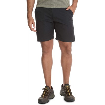 Wrangler Black Outdoor Performance Relaxed Fit at Knee Flex Cargo Shorts  