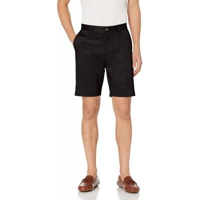 Brand - Buttoned Down Men's Slim Fit Flat Front 9 Inseam Chino Short Supima Cotton Non-Iron