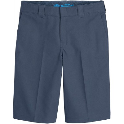 Dickies Men's Cooling Temp-iq Active Waist Flat Front Shorts at Men's Clothing store
