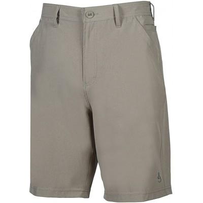 Hook & Tackle Men's Hi-Tide | Hybrid | 4-Way Stretch | Performance Fishing Short at Men's Clothing store